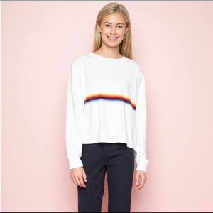 Long Sleeve Acacia Rainbow Top (Never Worn Before)